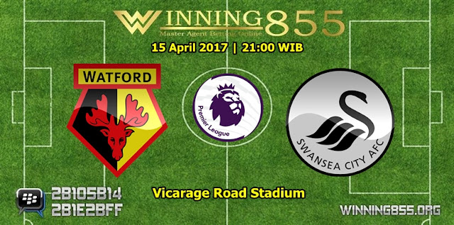 Prediksi Skor Watford vs Swansea City 15 April 2017