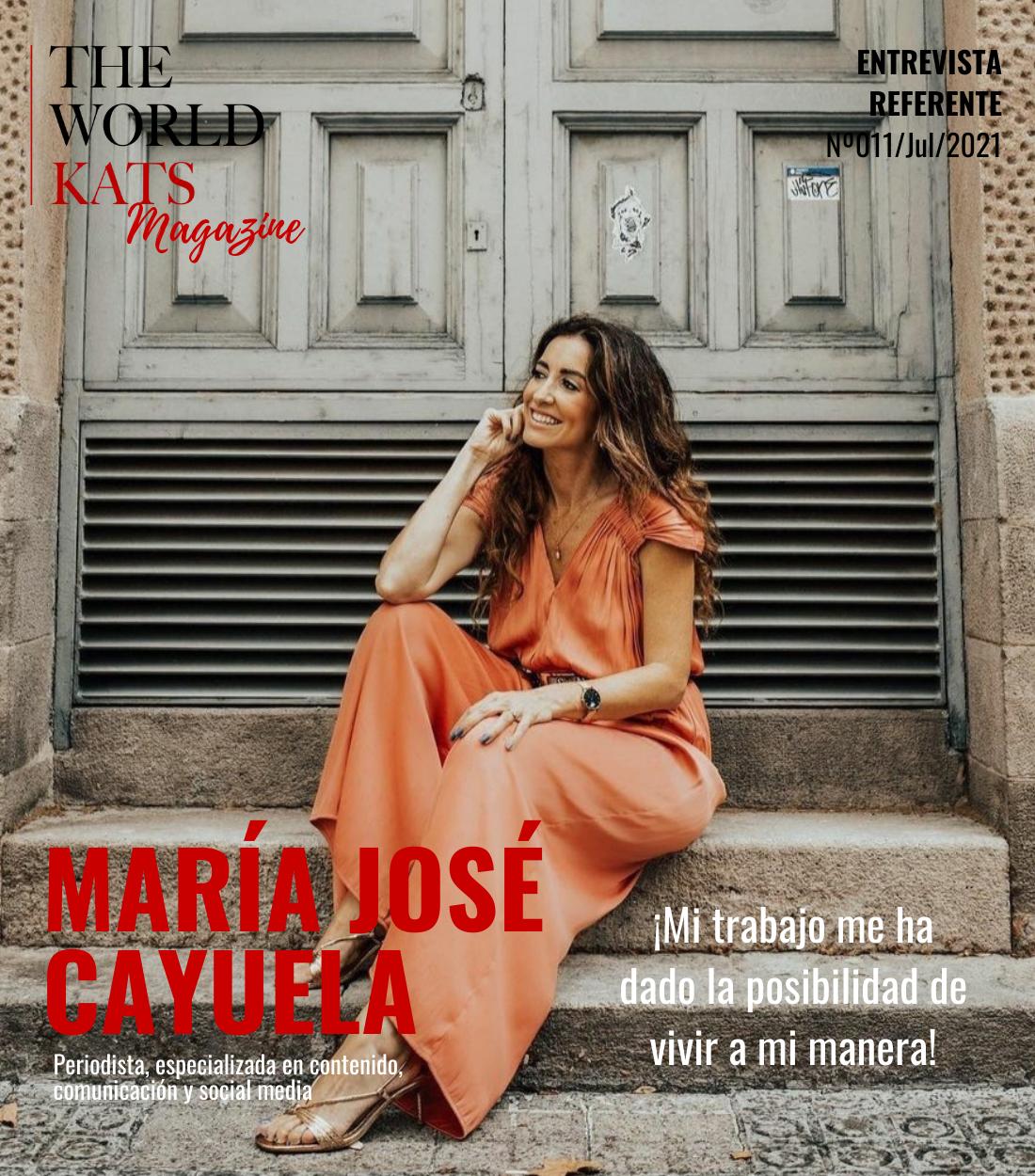 Entrevista a María José Cayuela, Periodista, especializada en contenido, comunicación y social media