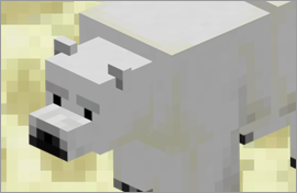 Minecraft Polar Bear Figures