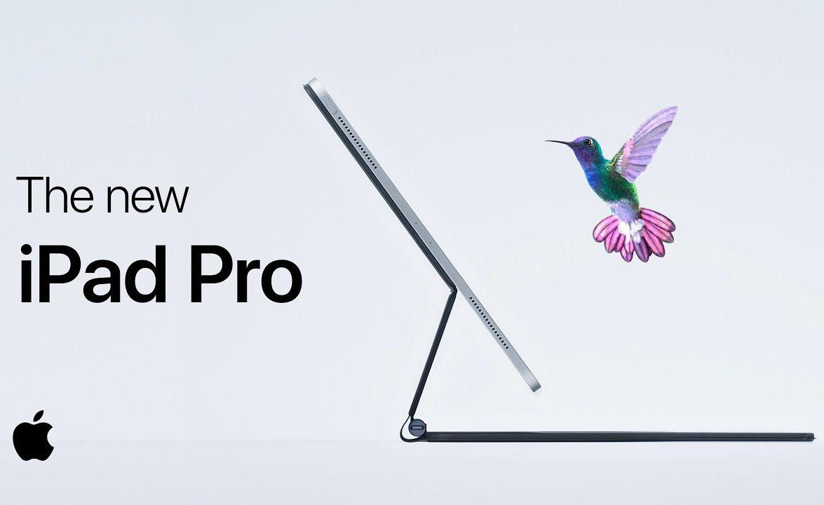 全新巧控鍵盤讓 iPad Pro 像蜂鳥一樣懸浮