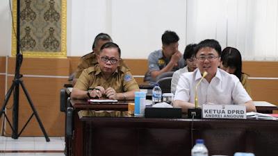 Dipimpin Ketua Dewan, Komisi I DPRD Provinsi Sulut Kunker di Polda Sulut