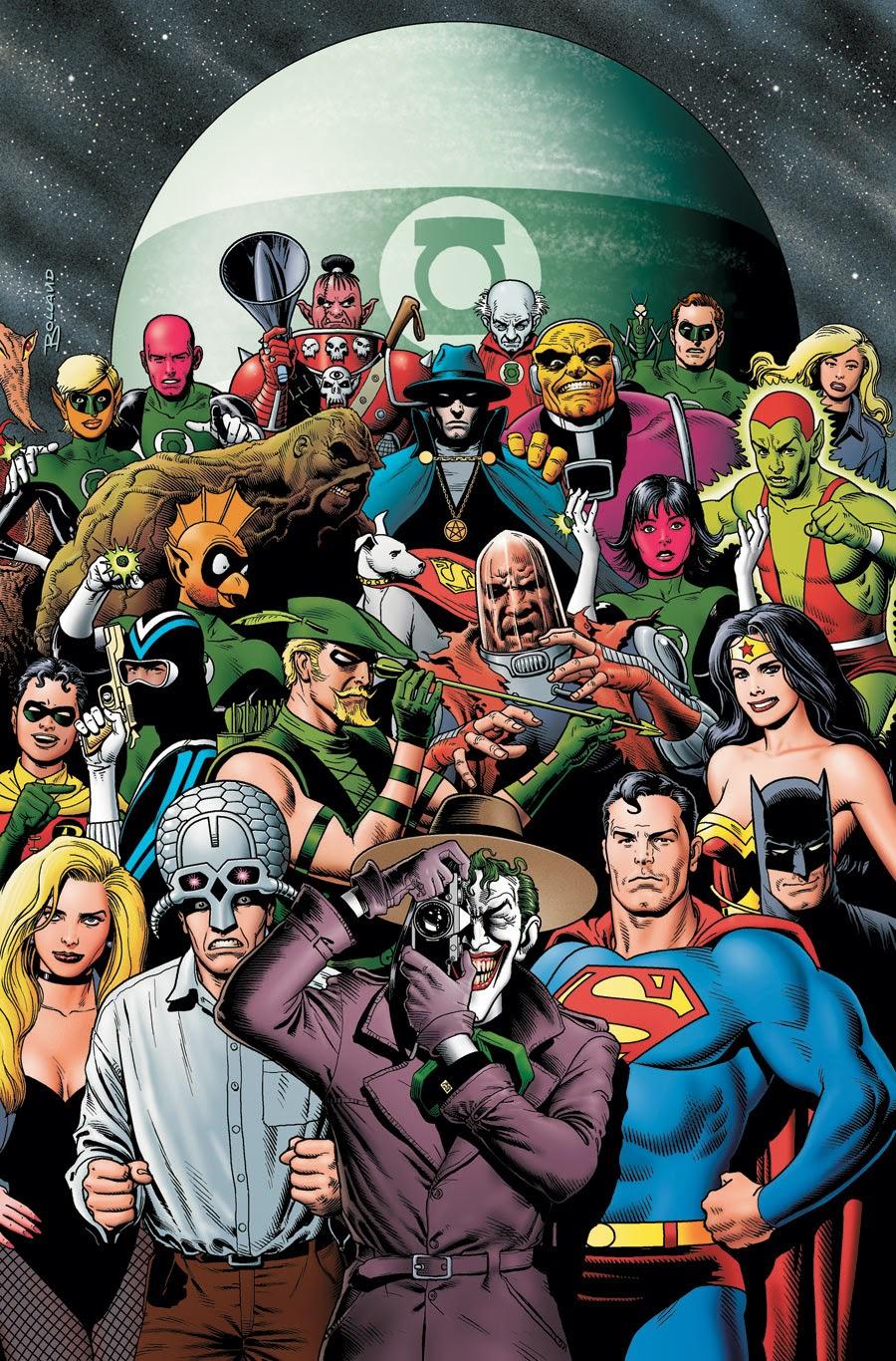 Todos los cómics y personajes de Alan Moore en DC