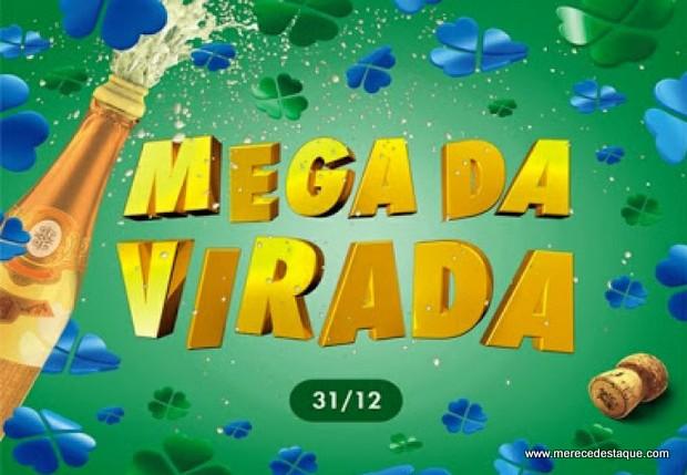 Sorteio da Mega da Virada acontece neste domingo (31); apostas podem ser feitas até as 14h do dia do sorteio