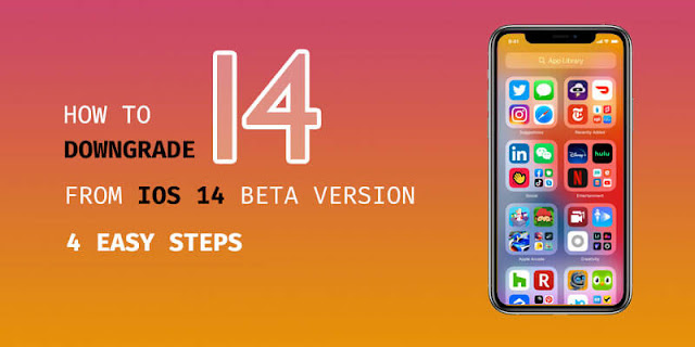 It's possible to downgrade iOS, Here's how you can downgrade iOS 14 beta version to iOS 13 without losing any data on your iPhone in a few easy steps.
