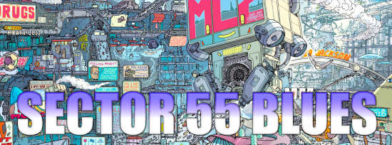 Judge Dredd: Sector 55 Blues