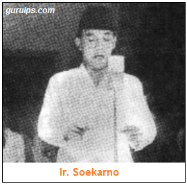 Ketua PPKI ir Soekarno