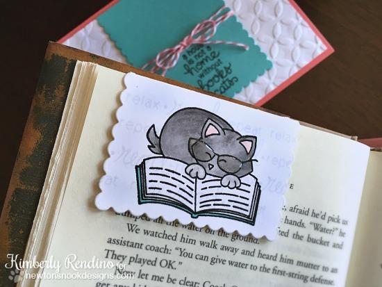 handmade card   handmade bookmark   handmade gift   newton's nook designs   clear stamps   kimpletekreativity.blogspot.com