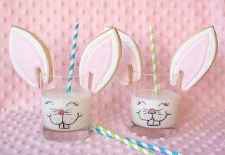 Biscotti per la colazione a forma di orecchie di coniglio
