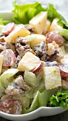 Resep Salad Buah Yoghurt Saus Mayonaise Keju Ala Resto
