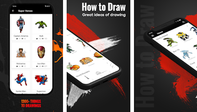 How to Draw - Learn step by step