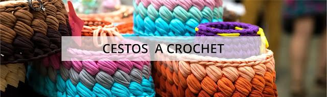 [Hogar] Cestos a Crochet