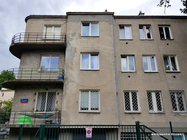 Warszawa Warsaw Mokotów Wierzbno ulice Warszawy street architektura willa architecture