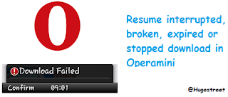 How To Resume Failed Or Broken Downloads In Operamini Itsallisay