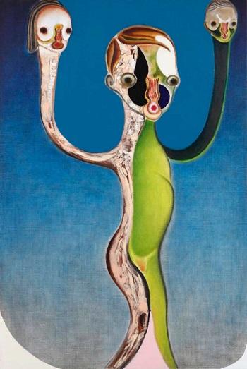 Izumi Kato - Untitled - 2013 | imagenes de obras de arte contemporaneo tristes, lindas, de soledad | cuadros, pinturas, oleos, canvas art pictures, sad | kunst | peintures