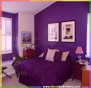 استعمال اللون الارجواني داخل غرف النوم سيهدئ من شعوركم حتما