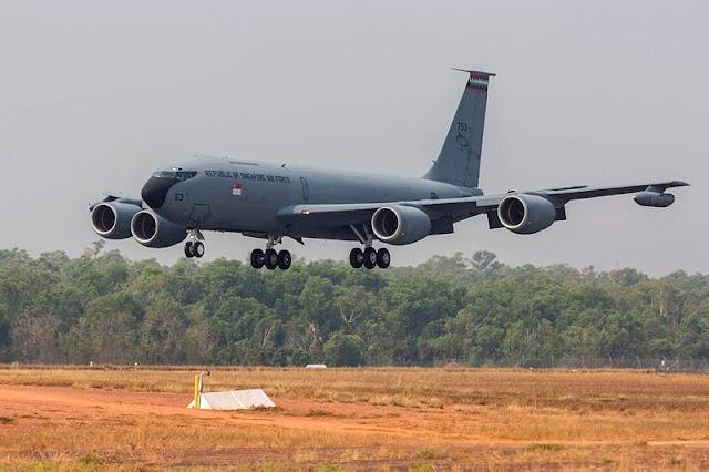 Meta Aerospace buys Singapore KC135