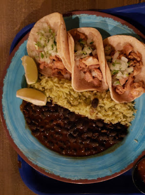Street Taco Plate at Cocina Cucamonga Mexican Grill - Disney California Adventure