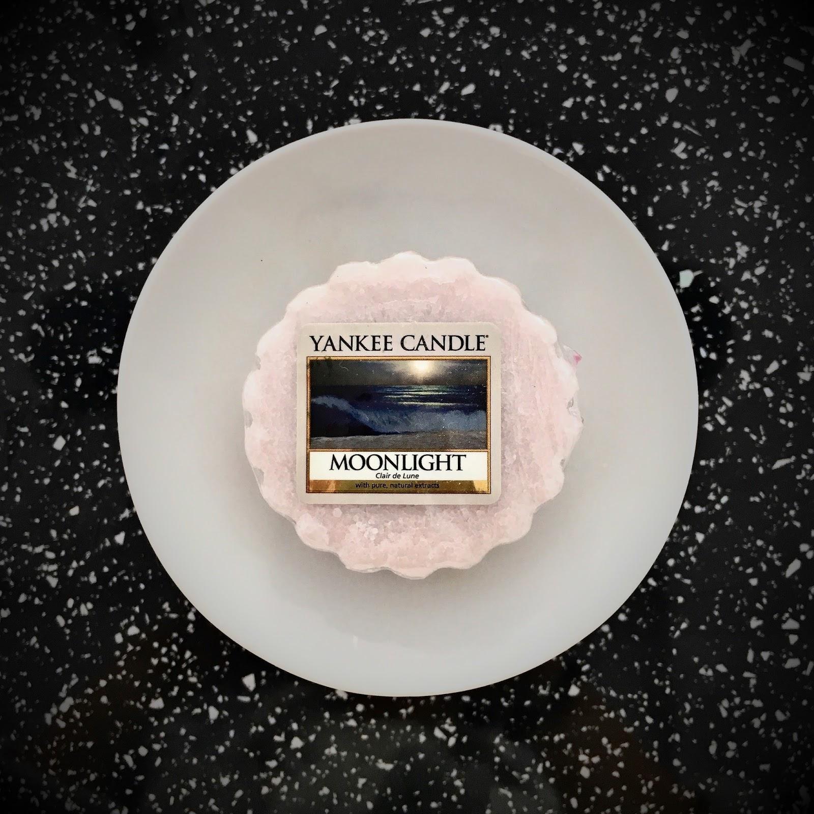Męskie zapachy - Moonlight, Yankee Candle