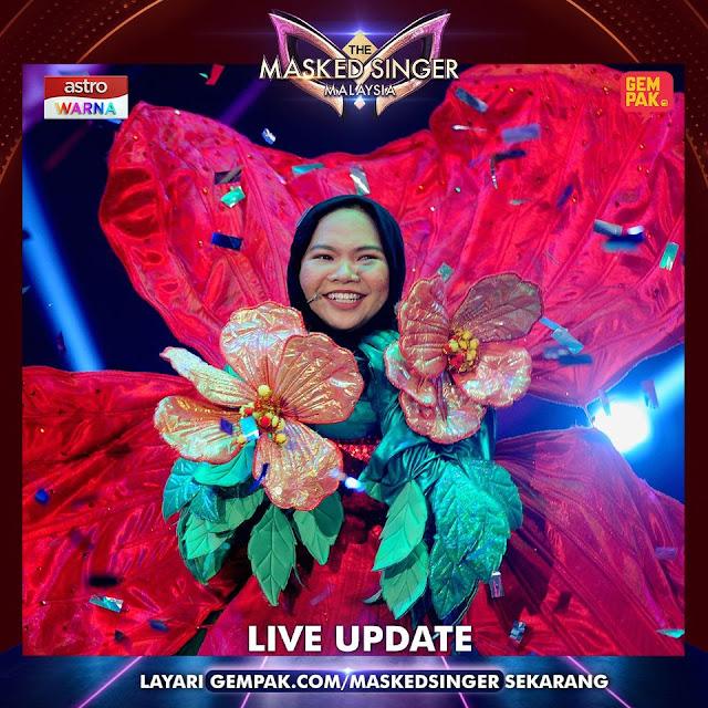 Persembahan Aina Abdul Lagu Listen The Masked Singer Malaysia Final.