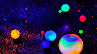 colorful bubble balls mobile wallpaper