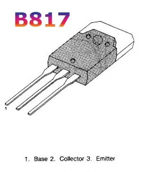 B817 Audio amplifier and DC - DC converter applications.