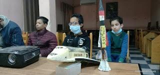 تم افتتاح ورشة تدريب أون لاين بين انديه نادي العلوم بمحافظات مصر المختلفة