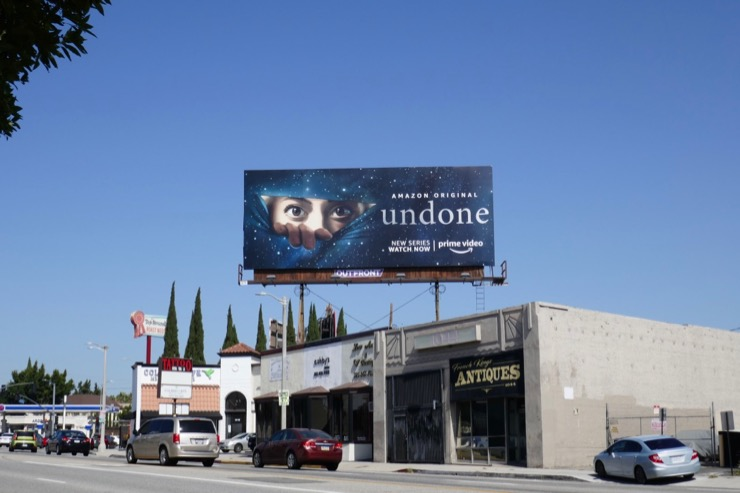 Undone TV series billboard