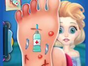 لعبة طبيب الاقدام