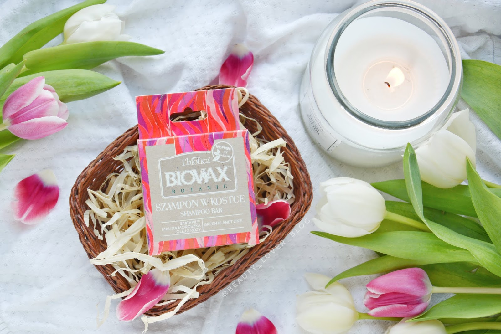 L'biotica Biovax- szampon w kostce malina moroszka & olej z róży- skład i recenzja