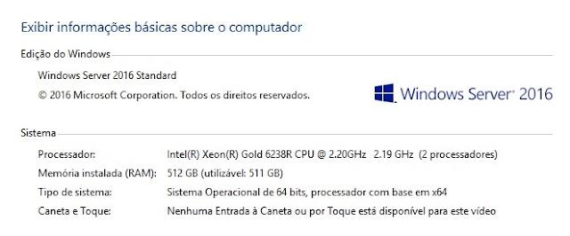 Referências de Consumo para Servidores Dual Xeon® Scalable 6238R