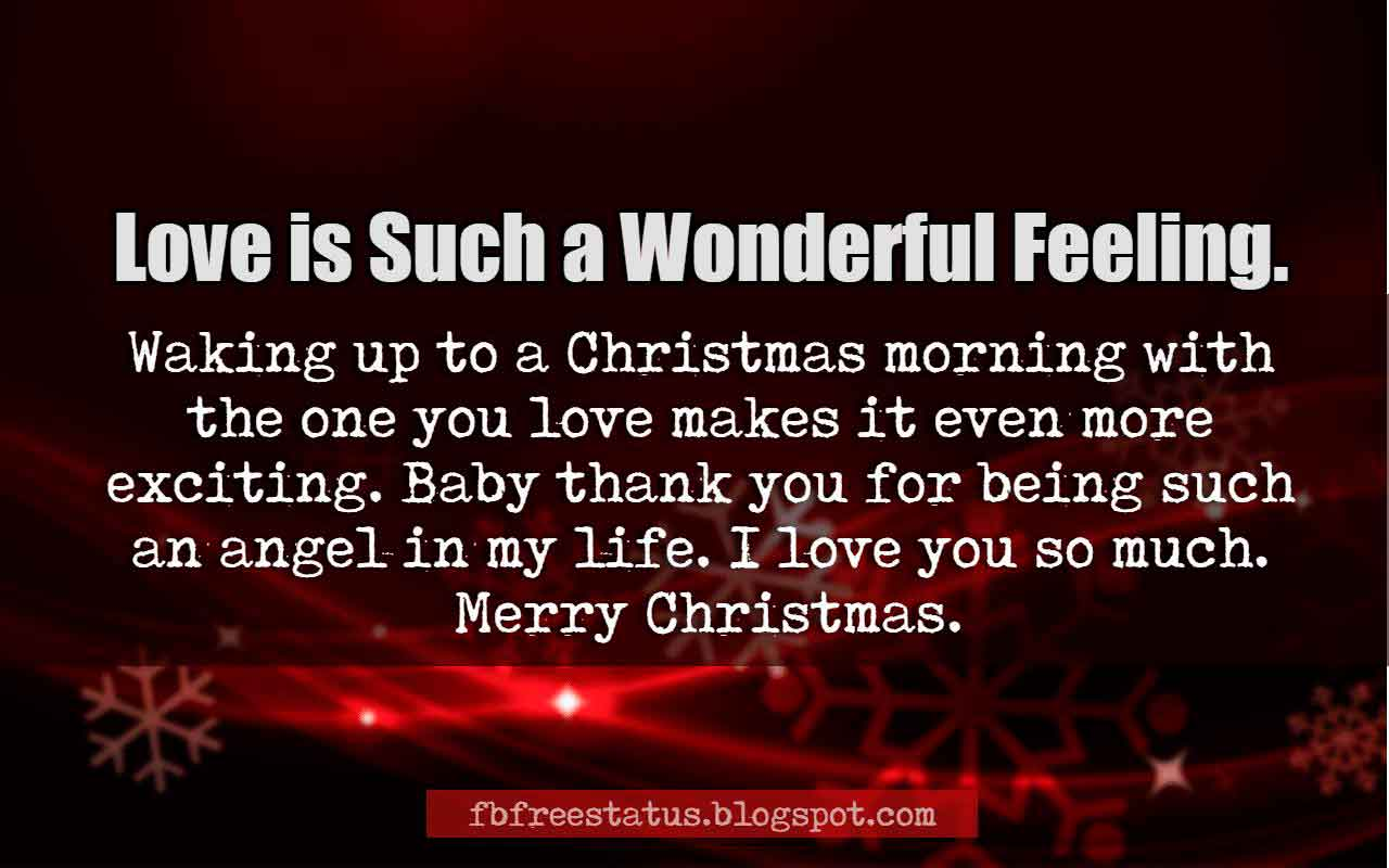 I Love You So Much Quotes Merry Christmas Love Quotes And Christmas Love Messages Images