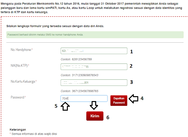 Cara Cepat Registrasi Ulang Pelanggan Prabayar  SAIPUL HENDRA