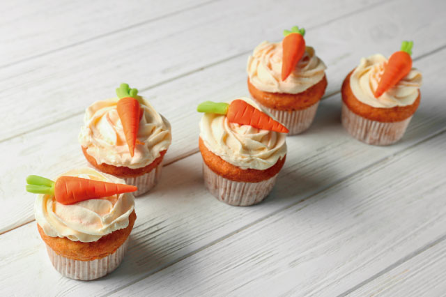 Cupcakes de ZANAHORIA esponjosos