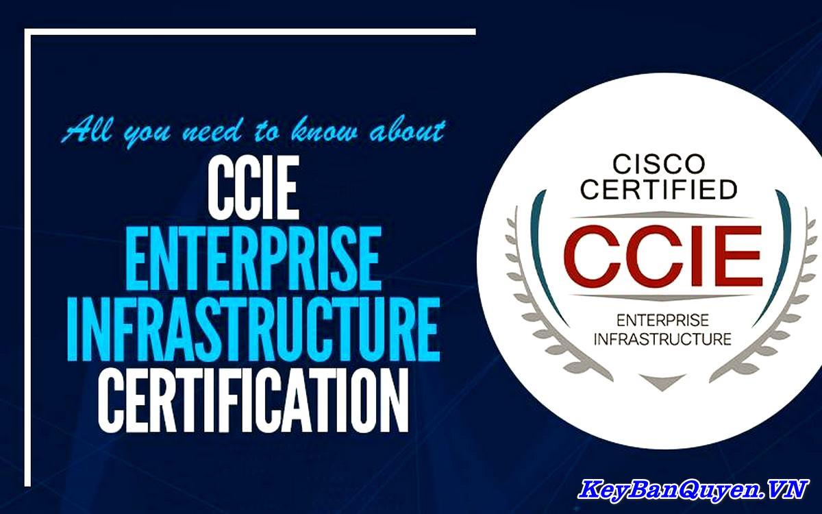 Khóa học Chứng nhận cơ sở hạ tầng doanh nghiệp CCIE Enterprise Infrastructure.