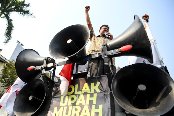 BPJS Naik, Listrik Naik, Buruh Menilai Kenaikan Upah Tak Berguna