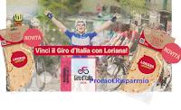 """Concorso """"Vinci il Giro d'Italia con Loriana"""" : in palio 42 pass e 10 forniture di prodotti Loriana"""