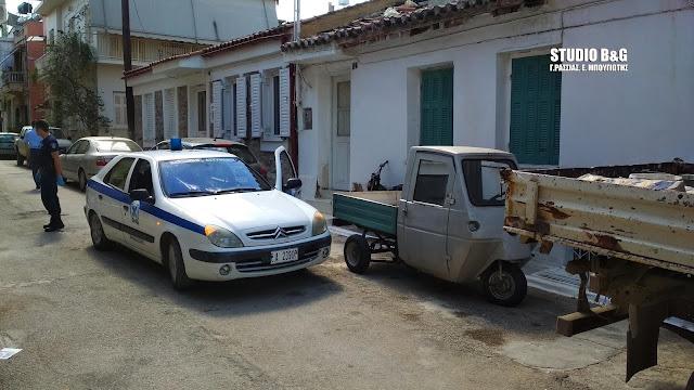 Βρέθηκε νεκρός ηλικιωμένος στο σπίτι του στην Πρόνοια Ναυπλίου