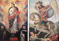 Madonnas and Saints in the Cuzqueño Style of the Spanish Colonial Missions