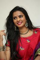 Manasa in Pink Salwar At Fashion Designer Son of Ladies Tailor Press Meet Pics ~  Exclusive 21.JPG