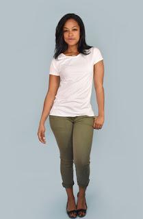 elegantees white t shirt