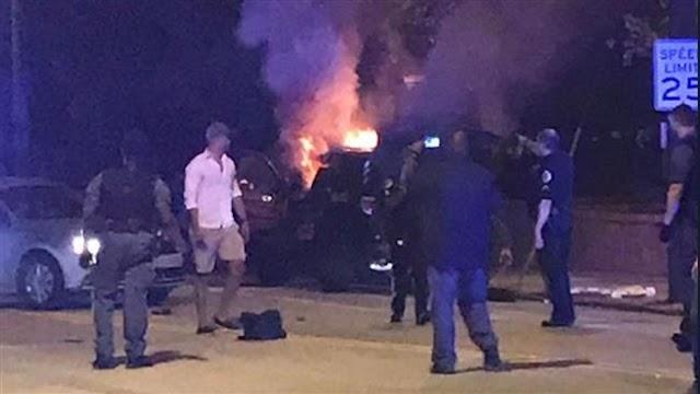 Georgia police, protesters clash over student's death