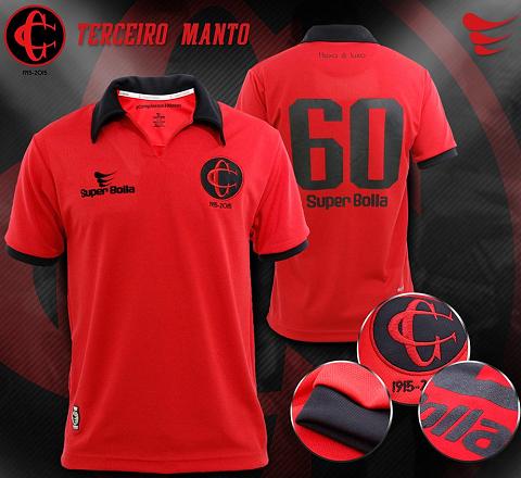 Super Bolla lança camisa comemorativa do Campinense - Show de Camisas 3d58c1bc7854c