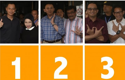 nomor urut calon gubernur dki jakarta
