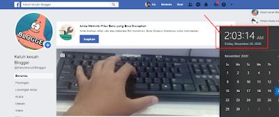 tampilan facebook klasik update  terbaru