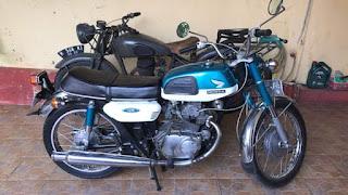 Dijual Honda cb125 twin Surat Komplit
