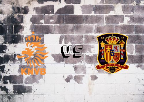 Países Bajos vs España  Resumen y Partido Completo