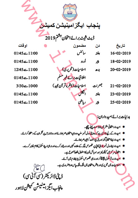 Punjab Examination Commission (PEC)