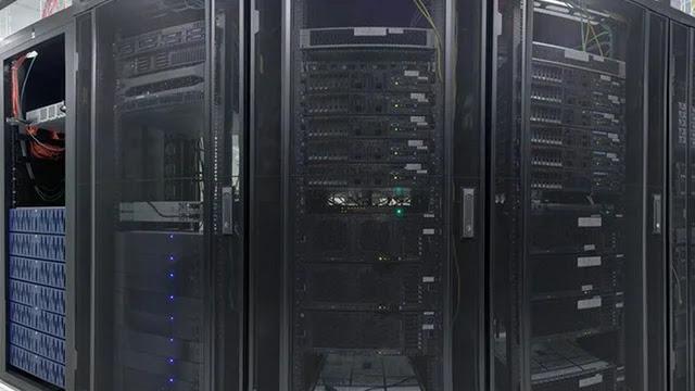Le supercalculateur de l'Intelligence Artificielle  en science qui travaille sur le projet de coronavirus et sur le changement climatique