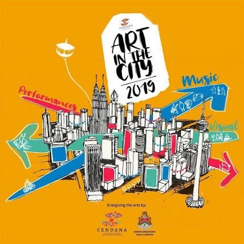 Hargai seni dan budaya Malaysia, jom ke Art in The City!