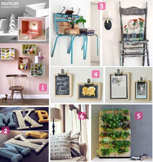 Ideas Decorar Tu Casa: Join The Mood: 6 DIY IDEAS TO DECORATE YOUR HOME / 6 IDEAS